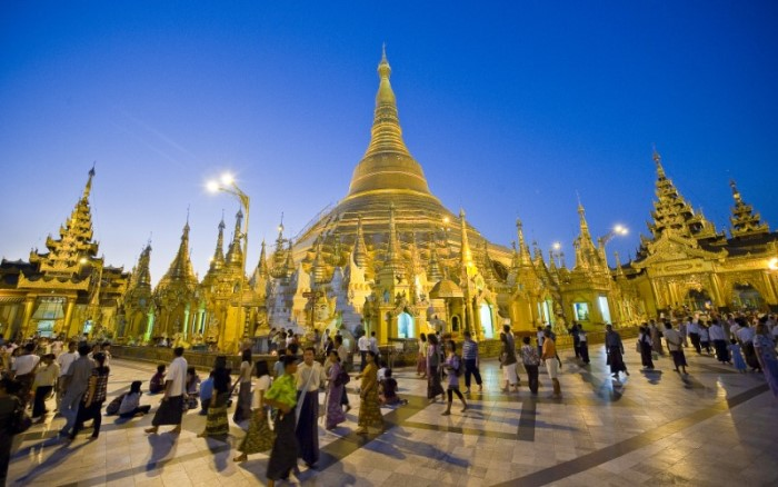 Burma Shwedagon Pagoda (Yangon) Magical Indochina